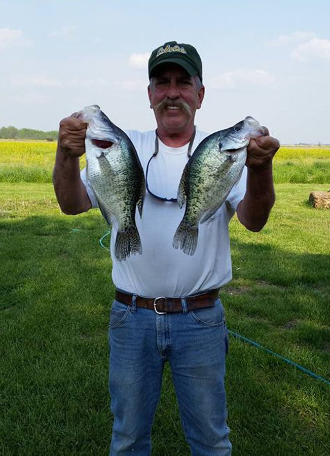 Crappie bass fishing guides southern il rend lake for Lake of egypt fishing report